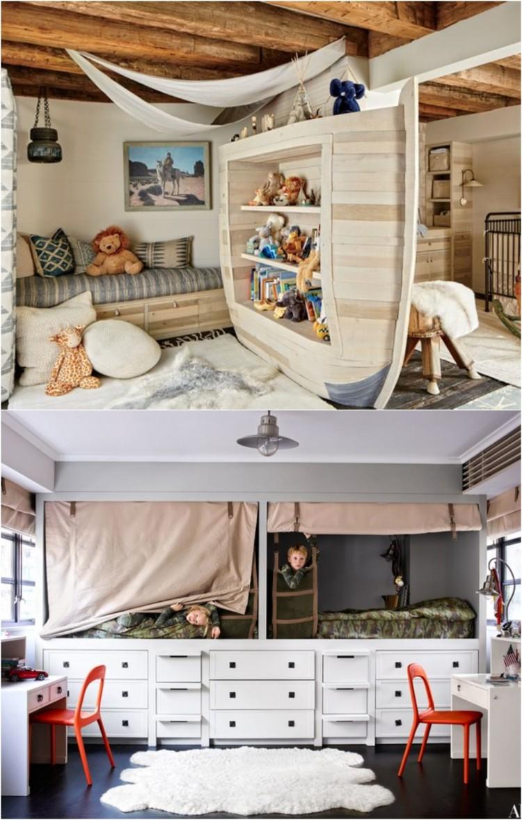 amenagement petite chambre enfant