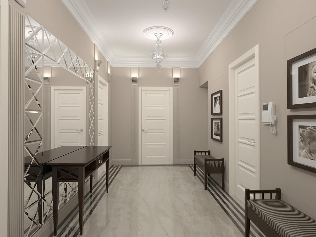 Couloir Gris Et Blanc Idees Deco Et Conseils Pour Un Couloir Moderne