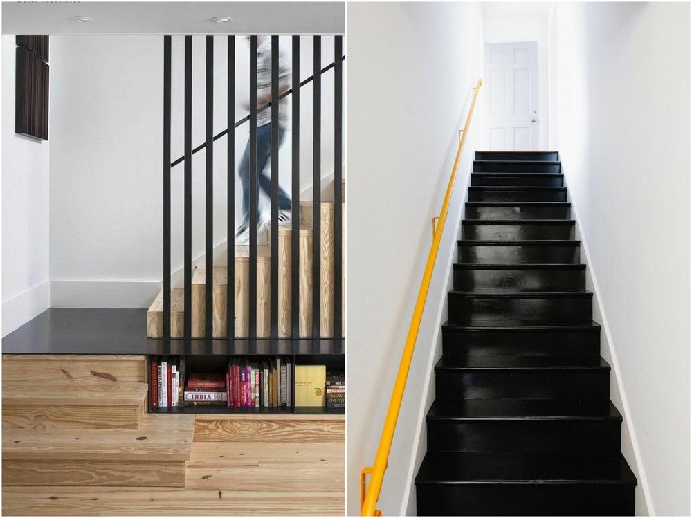 Escalier Noir Et Bois Moderne En Quelques Designs Splendides
