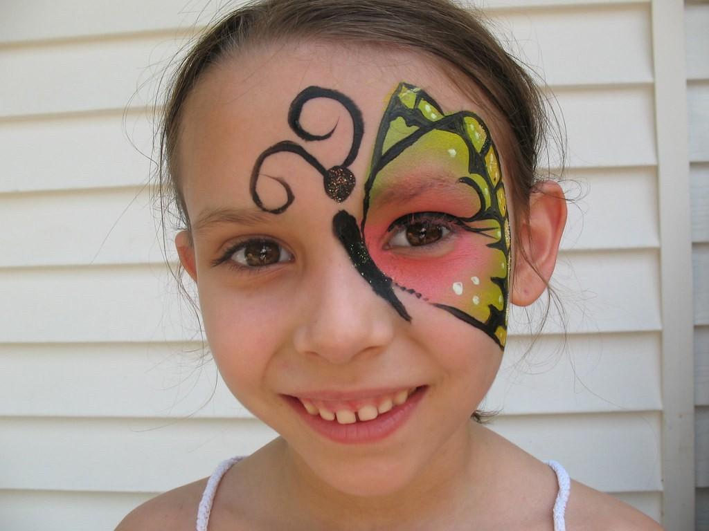 maquillage halloween fille 4
