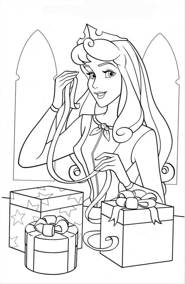 Coloriage de Noël Disney à imprimer gratuitement !