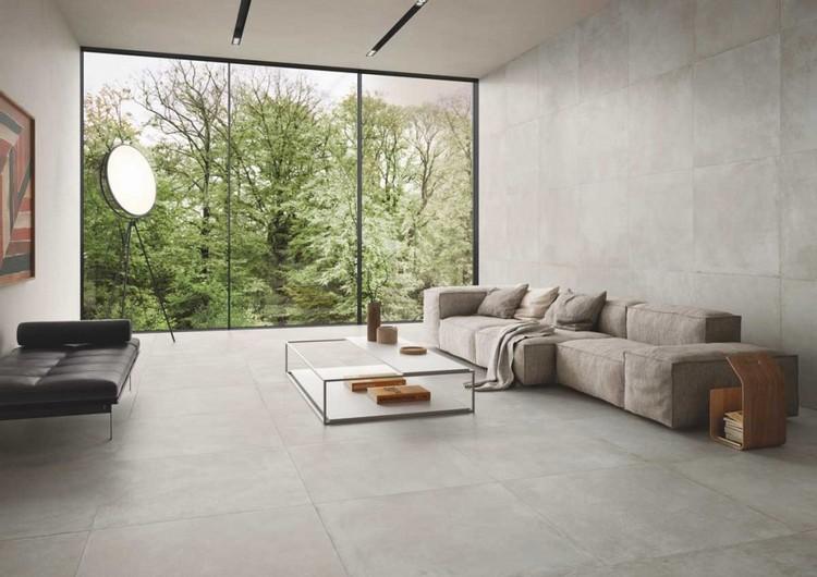 carrelage imitation beton grand format