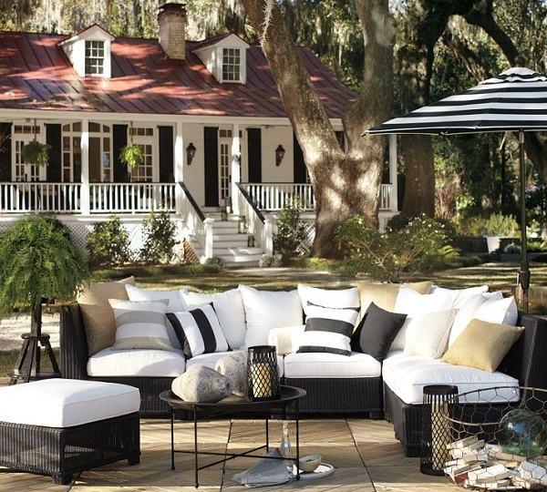 25 elegant patio furniture designs for