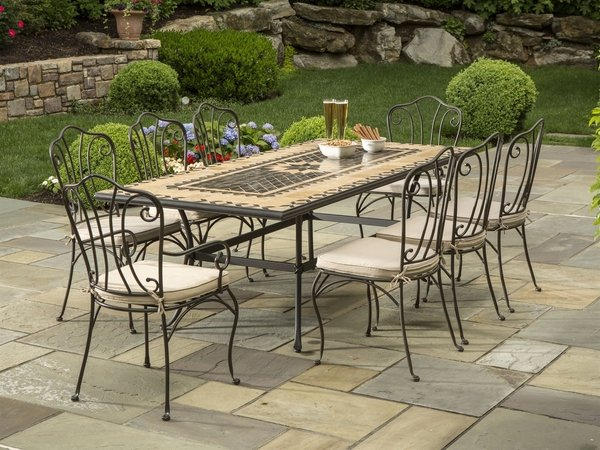 40 wrought iron patio furniture sets