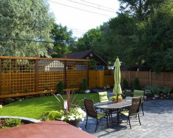 Privacy Fence Or Garden Wall