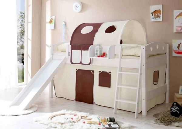 Trendy Bunk Beds With Slide Decorating Ideas For The