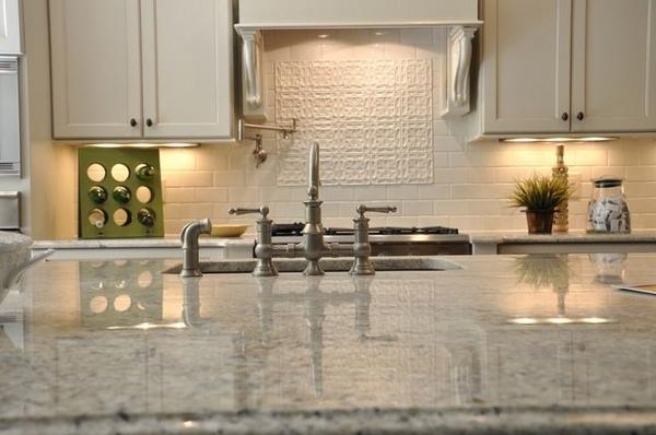 The Beautiful Bianco Romano Granite Countertops In Modern