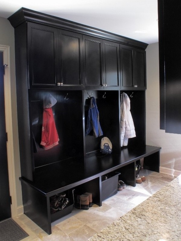 Mudroom Lockers A Clever Way To Provide Additional