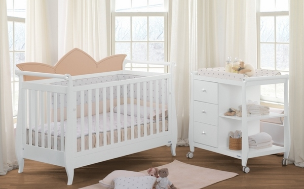 Baby Crib And Changing Table Combo Decorative Decoration