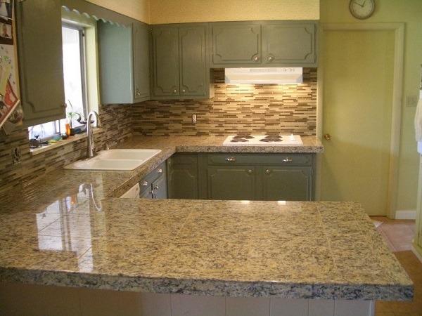 granite slabs vs granite tile countertops