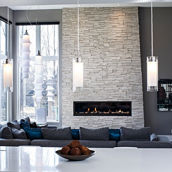 stone fireplaces ideas for