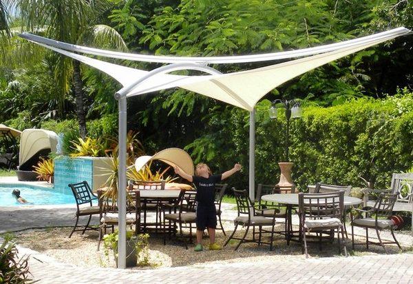 outdoor umbrella sun protection
