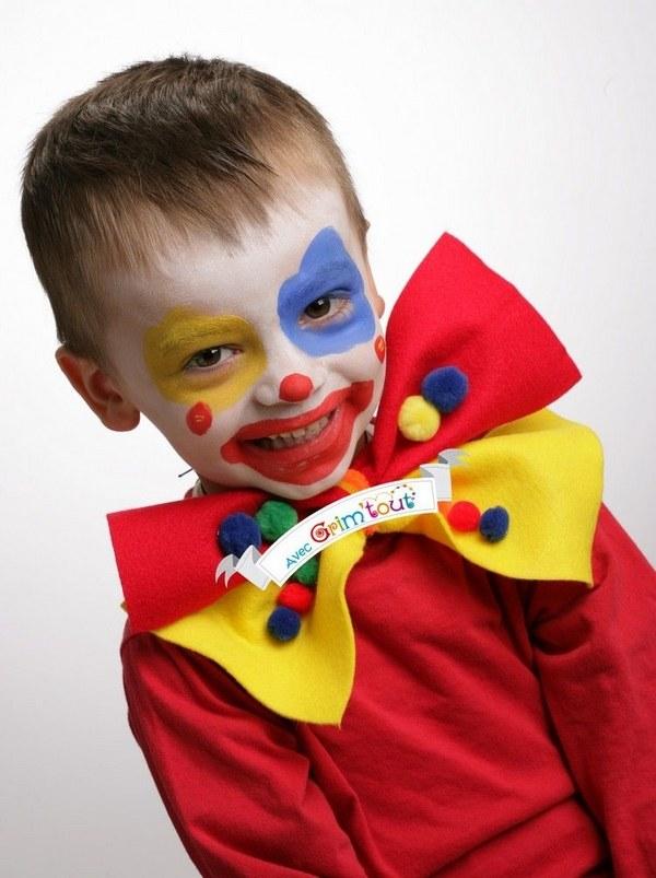Simple Clown Makeup Boy Saubhaya