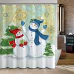 20 Christmas Shower Curtains Christmas Spirit To Make You Smile
