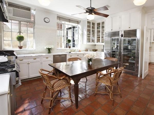 saltillo tile floors indoor and