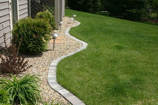 modern garden edging ideas