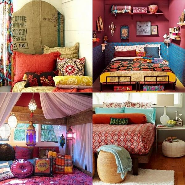 boho room decor ideas – how to create bohemian chic interiors?