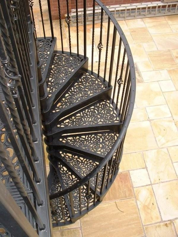 Outdoor Spiral Staircase Designs To Complement The House Exterior | Outdoor Iron Staircase Designs | Gallery | Outdoor Balcony | Exterior | Curved Staircase Carpet | Wooden Staircase