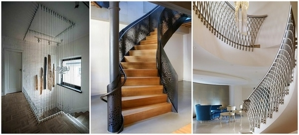 Metal Railing Ideas – Exclusive Staircase Designs For Your Home | Metal Railing Designs Stairs | Rot Iron Staircase | Step | Luxury | Creative Outdoor Stair | Curved Railing