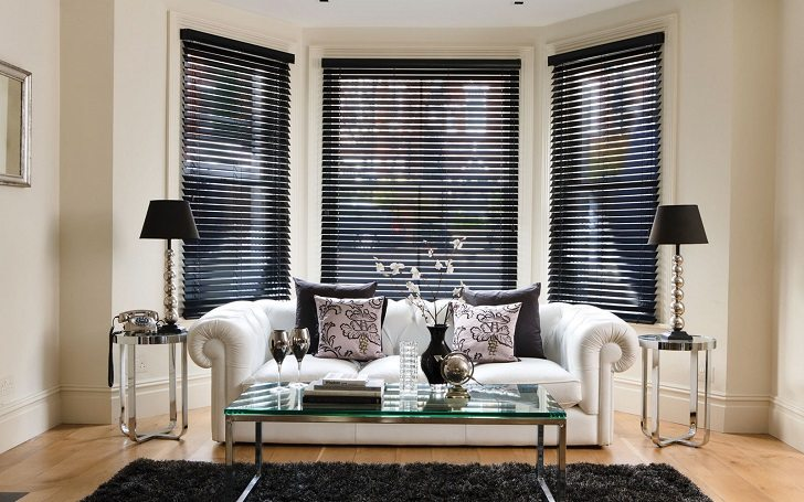 bay window blinds ideas how to dress