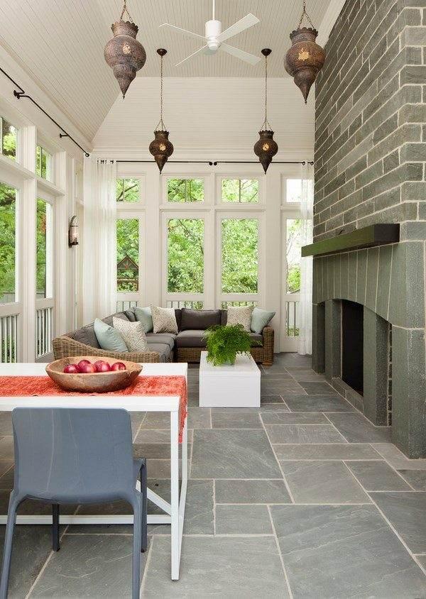 porch flooring ideas materials