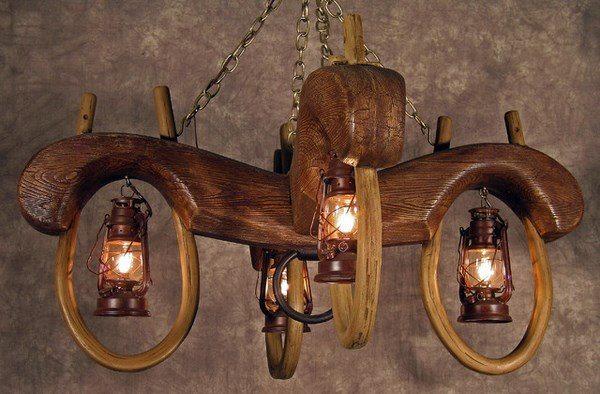 rustic light fixtures simplicity