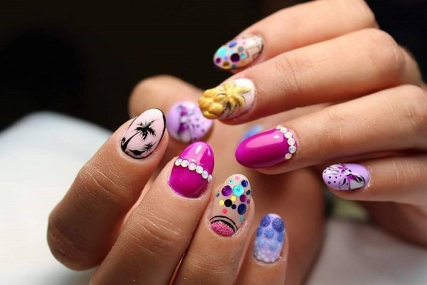20 Cute Summer Nail Art Ideas To Brighten Your Mood