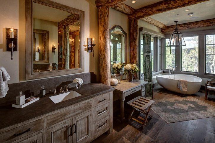 rustic bathroom vanity cabinets and