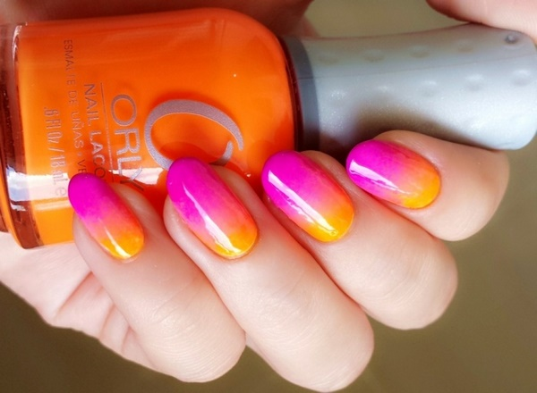 Fancy Summer Nails Ideas Beautiful Ombre Nail Art