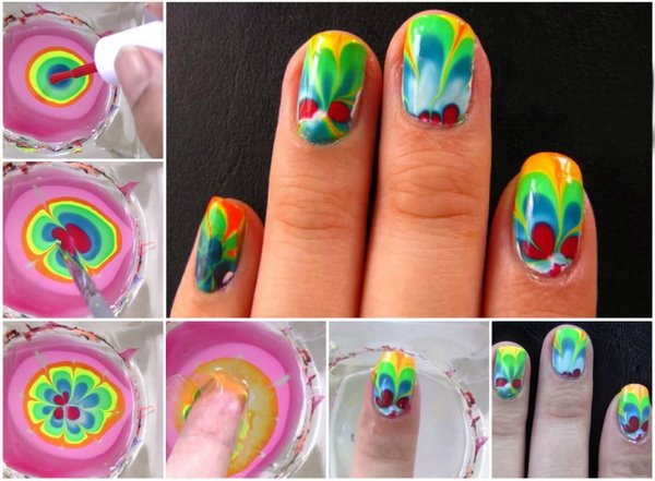 Rainbow Nail Art Ideas For The Summer Techniques And Tutorials