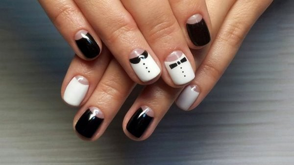 Moon Nails Easy Elegant Ans Stylish Nail Design Ideas