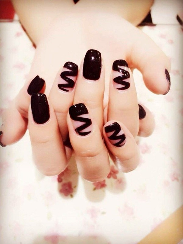 Black Nail Art Ideas Chic Designs For Autumn And Winter