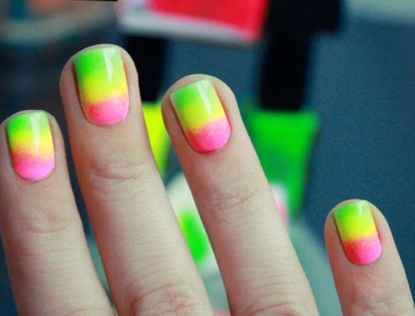 Bright And Easy Neon Grant Nail Art Designs Design Ideas That Make A Striking Impression