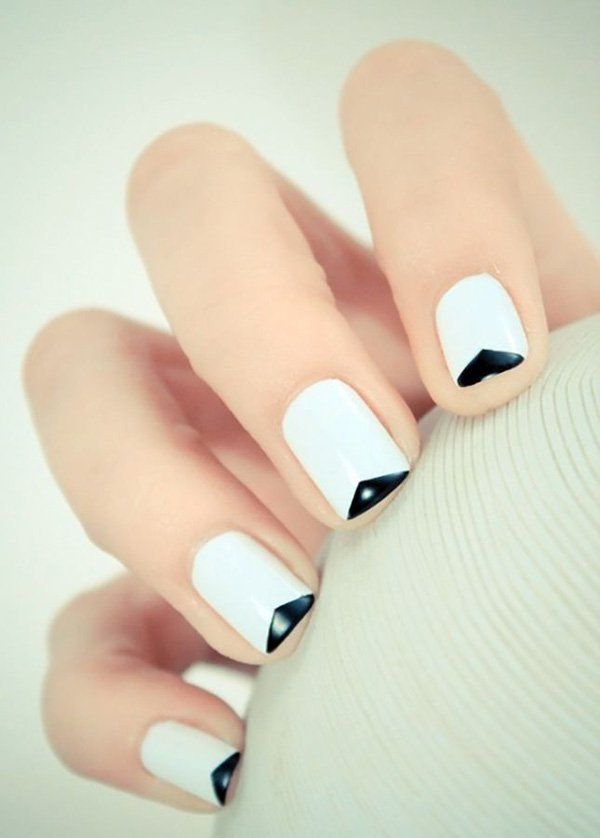 Black And White Nail Art Ideas Unique Manicure Designs For Any Season