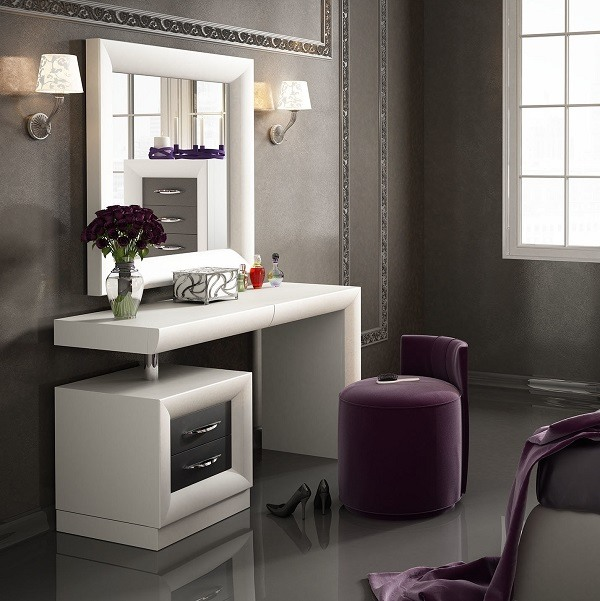 modern bedroom makeup vanity saubhaya