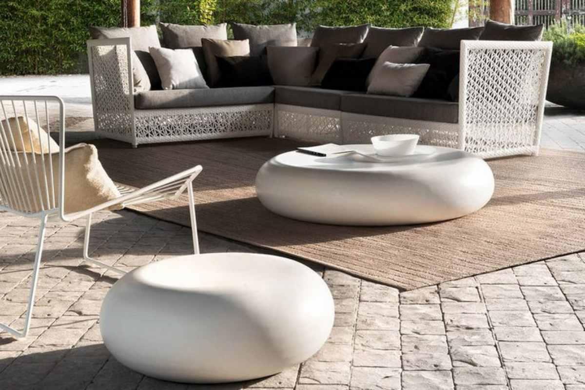 modern outdoor coffee table ideas an