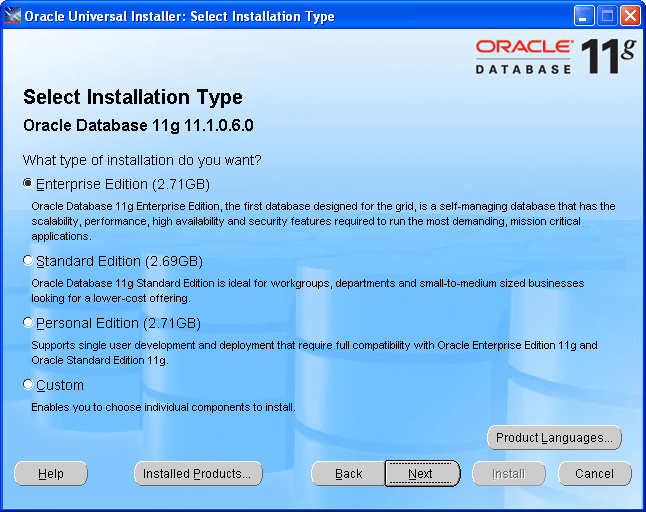 Step by Step Upgrading Oracle 10g to Oracle 11g (3/6)