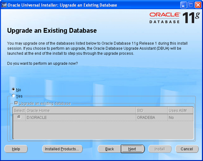 Step by Step Upgrading Oracle 10g to Oracle 11g (6/6)