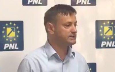 PNL Bacău cere demisia primarului Cosmin Necula