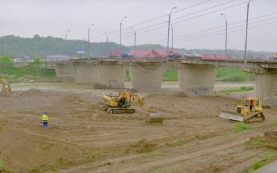 Restricții de trafic la podul de la Onești