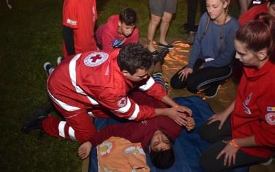 Voluntarii Crucii Roșii au fost pregătiți în domeniul managementului situațiilor de urgență (FOTO)