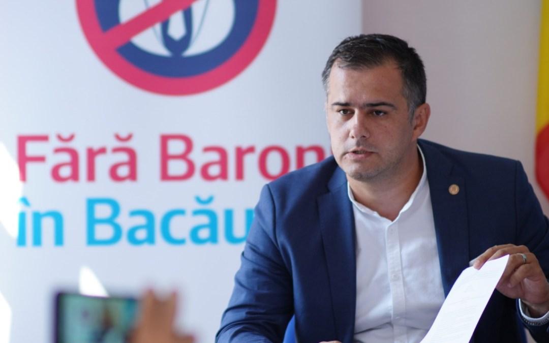 """Lucian Stanciu-Viziteu: """"Județul Bacău s-a degradat, din punct de vedere economic, cultural și social, în ultimii 30 de ani sub conducerea permanentă a PSD."""""""