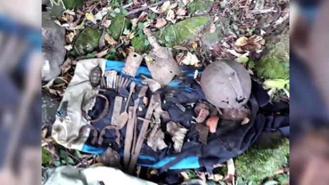 Un băcăuan a descoperit rămășițele unui soldat din Primul Război Mondial