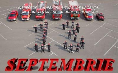 Ziua pompierilor români sărbătorită la Bacău