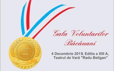 Gala Voluntarilor Băcăuani a ajuns la cea de-a XIII-a ediție