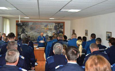 Recompense la Inspectoratul de Jandarmi Judeţean Bacău cu ocazia Zilei Naţionale a României