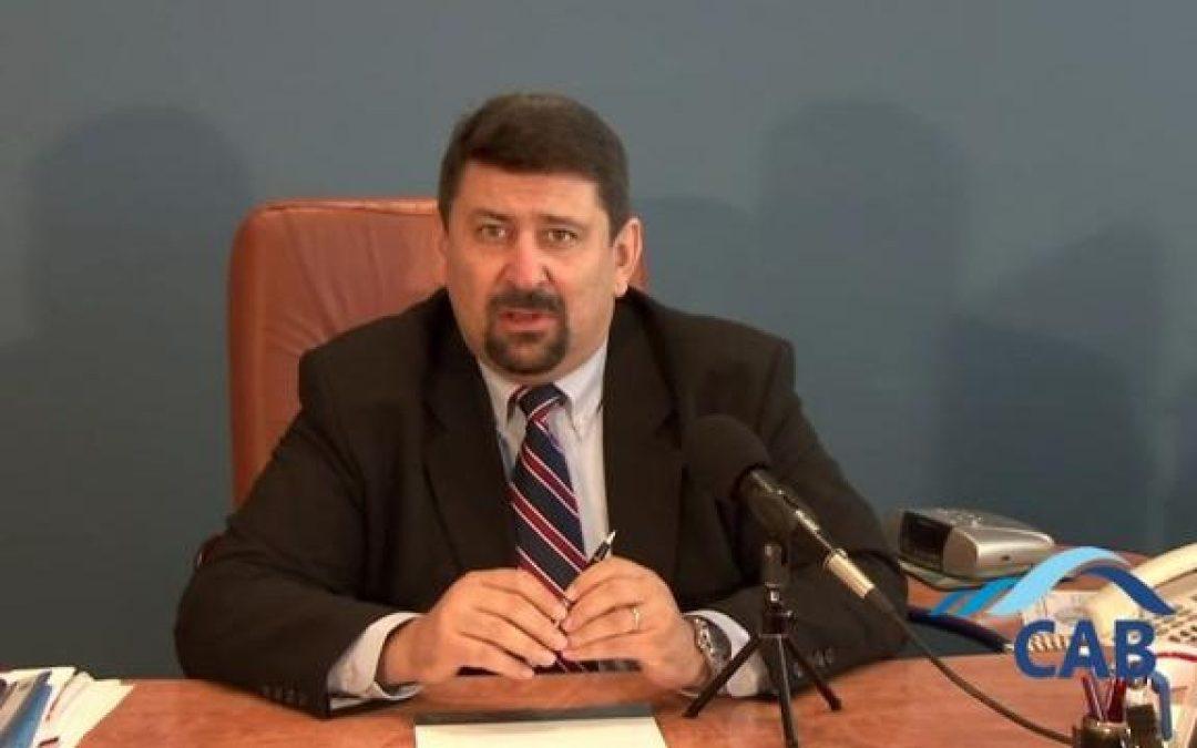 Răzvan Găină, noul director al ABA Siret