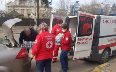 Donații de la Crucea Roșie Bacău pentru câteva spitale din județ