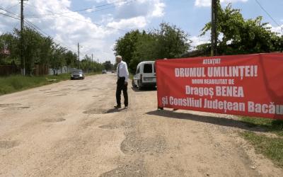 """Drumul """"umilinței"""" unei comunități (VIDEO)"""