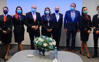 """Blue Air anunţă că introduce şapte rute noi pe aeroportul ,,George Enescu"""" Bacău"""